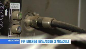 Peritos, procuraduría general de la república (PGR), catean instalaciones, Megacable