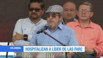 Hospitalizan, Timochenko, líder de FARC