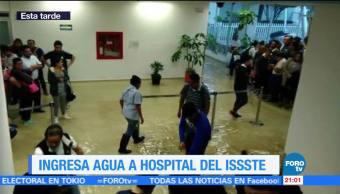 Hospital, Regional, ISSSTE, CDMX, afectado, lluvias