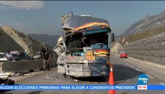 accidenta, Sonora Dinamita, Nuevo León, ocasionado, lluvia, tormenta