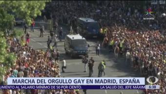 millón de personas, España, orgullo gay, partidos políticos