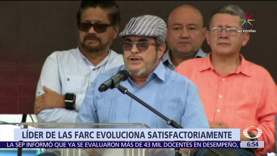 Rodrigo Londoño, líder, FARC, accidente cerebral, Colombia