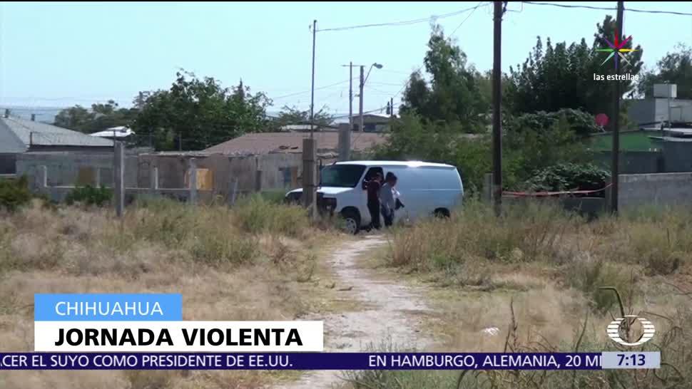Fiscalía de Chihuahua, fosas clandestinas, municipio de Madera, cuerpos