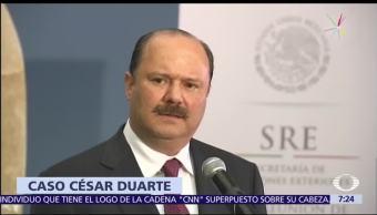 orden de aprehensión, César Duarte, exgobernador de Chihuahua, delito electoral