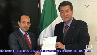 Stalin Sánchez, primo de Karime Macías, Coordinación de Asesores, Comisión Anticorrupción, Senado