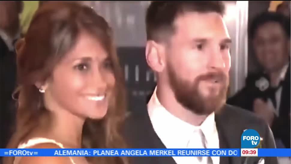 futbolista Lionel Messi, Antonella Roccuzzo, casaron, Rosario