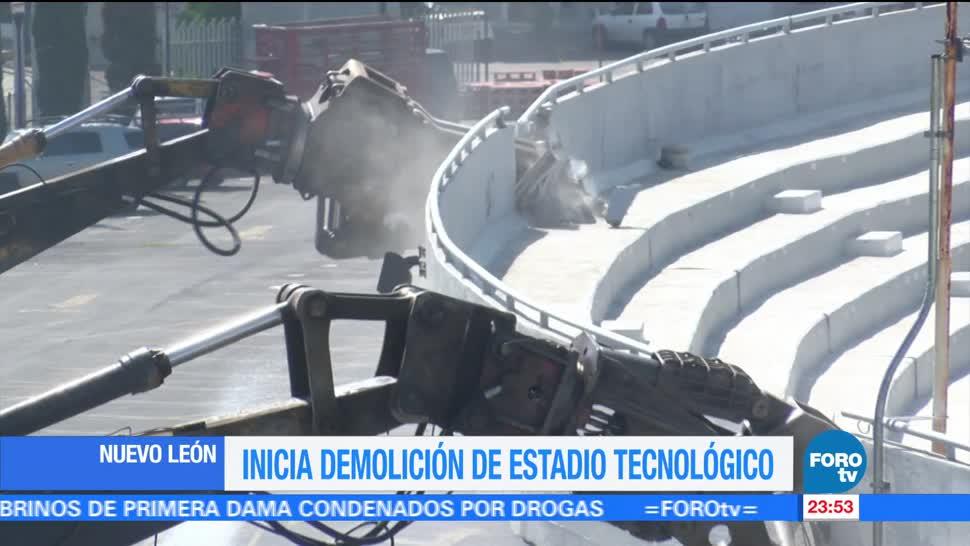 noticias, televisa, Comienza, demolición, estadio, Tecnológico de Monterrey