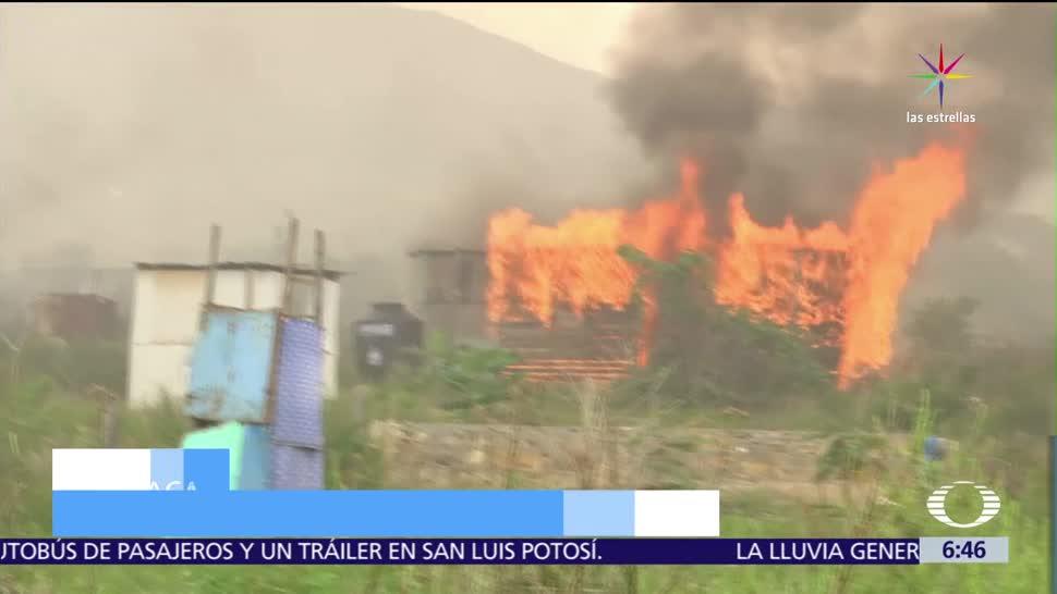 Queman, Villa de Zaachila, Oaxaca, enfrentamiento, manifestantes