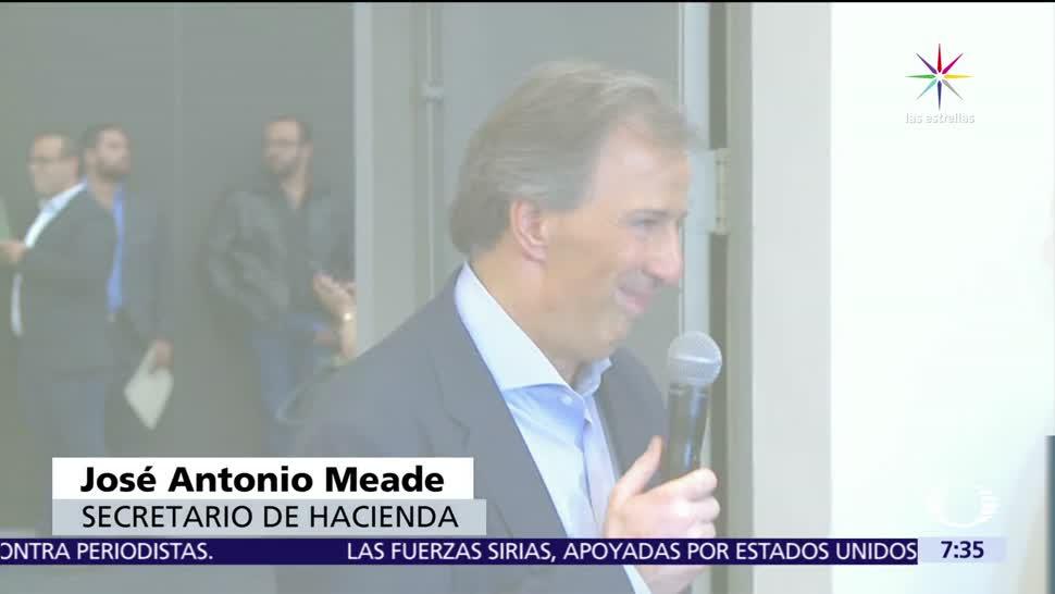 José Antonio Meade, proyección, proyección de AMLO, candidatura presidencial, 2018
