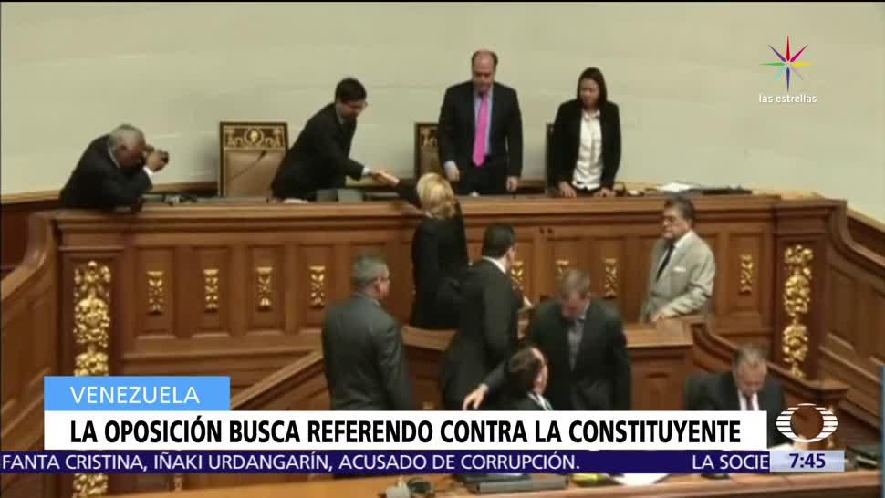 oposición de Venezuela, referéndum, ciudadanía, Asamblea Constituyente