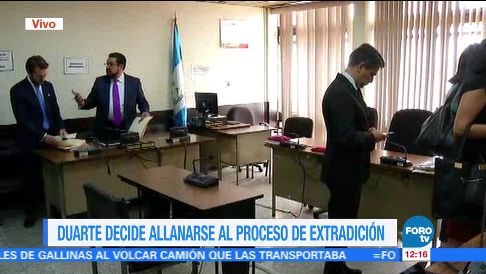 Tribunal de Guatemala, audiencia, exgobernador de Veracruz, Javier Duarte