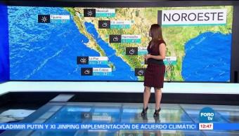 Ciudad de México, temperatura máxima, probabilidad de lluvia, tarde