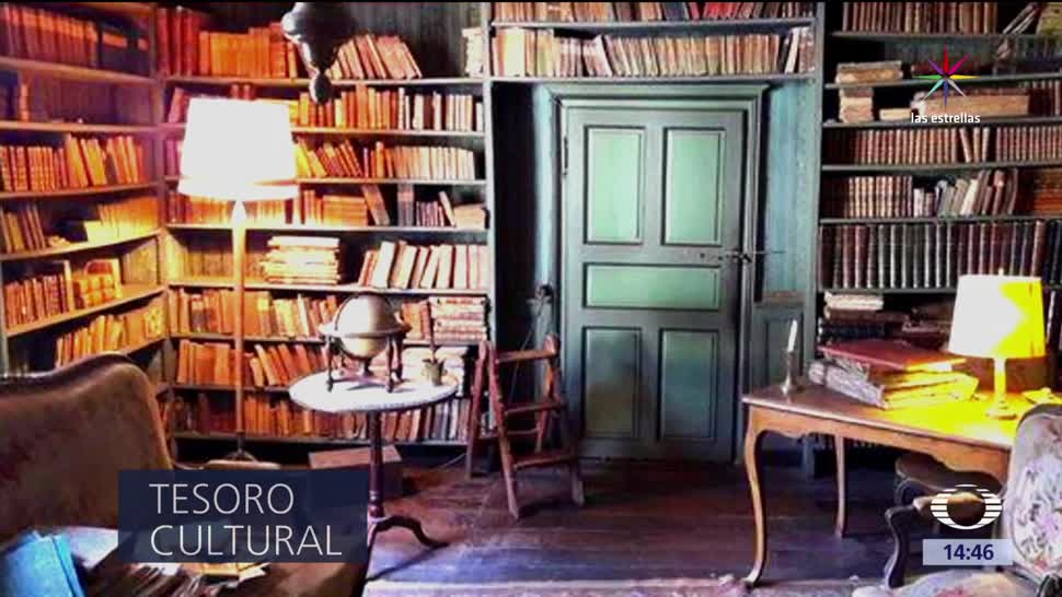 Descubren, antigua, biblioteca, Bélgica