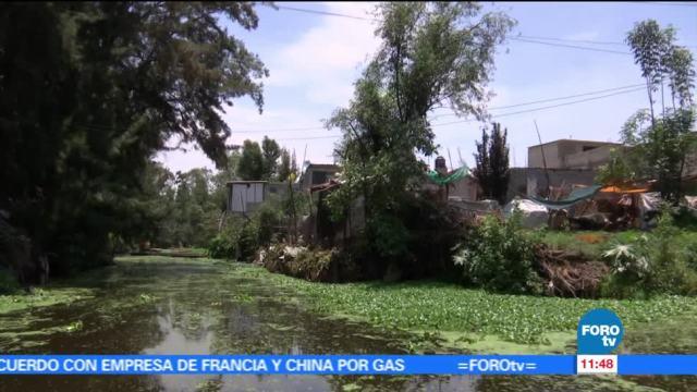Asentamientos, irregulares, Xochimilco, contaminación