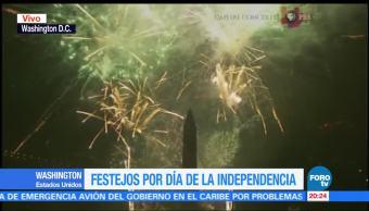 noticias, forotv, Celebran, Día de la Independencia, EU, 4 de julio