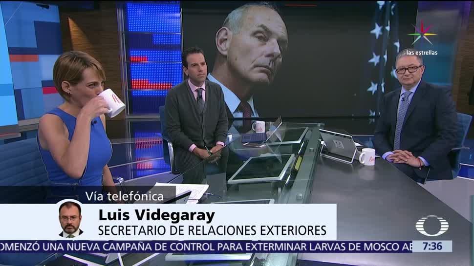 Luis Videgaray, canciller de México, reunión, Enrique Peña Nieto
