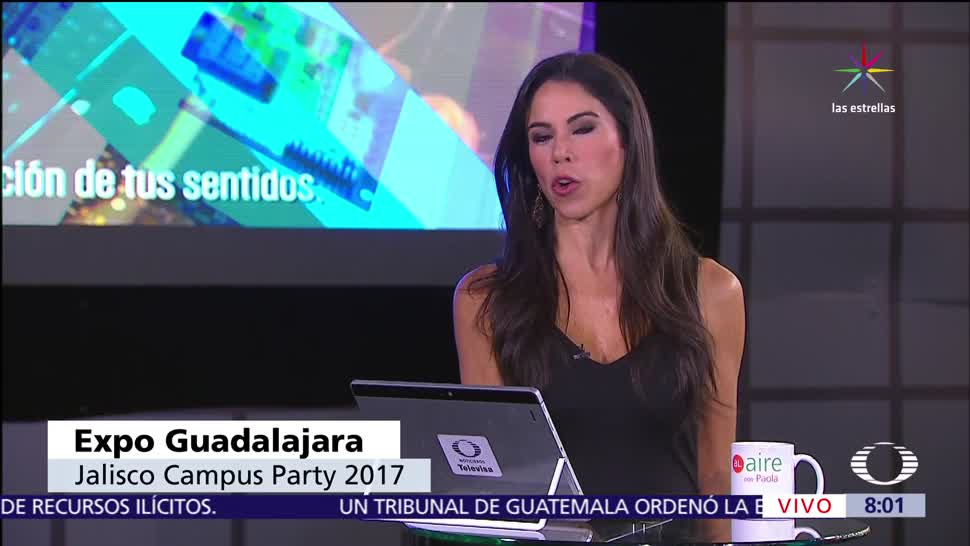 instalaciones, Expo Guadalajara, Campus Party 2017, julio