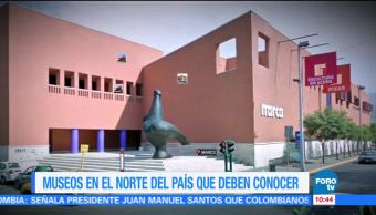 Sofía Escobosa, reportaje, museos, norte de México