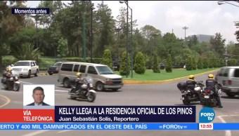 John Kelly, secretario, Seguridad Nacional, Estados Unidos, Los Pinos