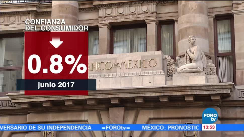 noticias, forotv, confianza del consumidor, disminuye, INEGI, comparación con el mes previo