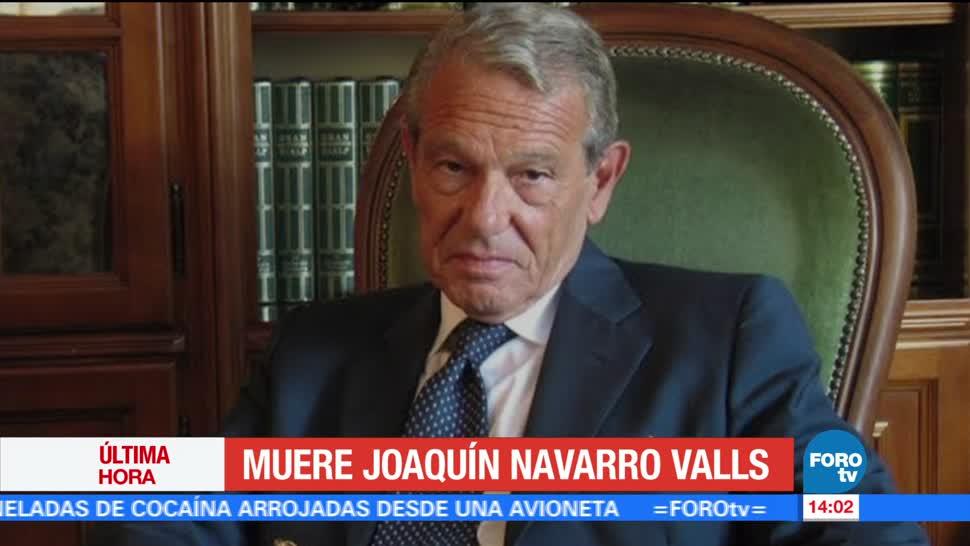 noticias, forotv, Muere, Joaquín Navarro Valls, exvocero, Vaticano