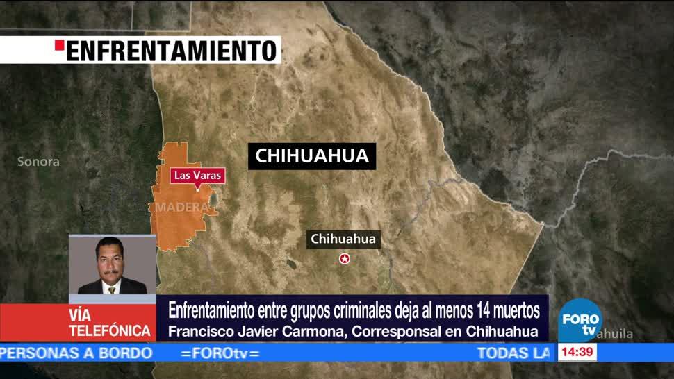 noticias, forotv, Reportan, varias personas muertas, enfrentamiento, Chihuahua