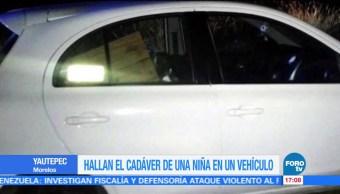 noticias, forotv, cadáver, menor, vehículo, Yautepec