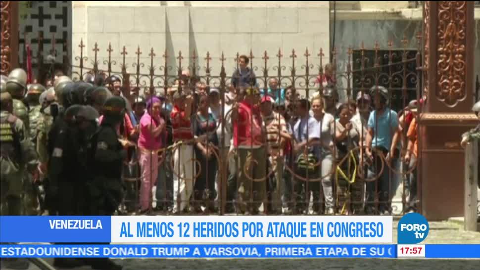 Desalojan, sede, Parlamento, Venezuela, 9 horas, irrumpieron manifestantes