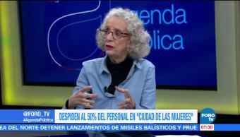 Marta Lamas, investigadora en la UNAM, conflicto laboral, 'Ciudad de las mujeres'