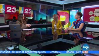 entrevista, conductores, Karla Gómez, Rulo Sker, programación de Telehit