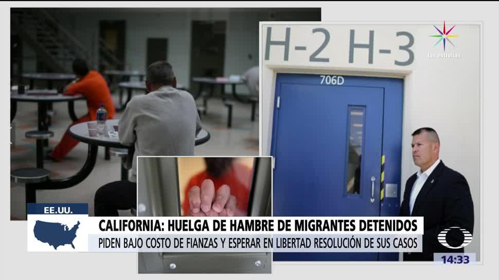 noticias, televisa, Migrantes, huelga de hambre, California, por tercera vez