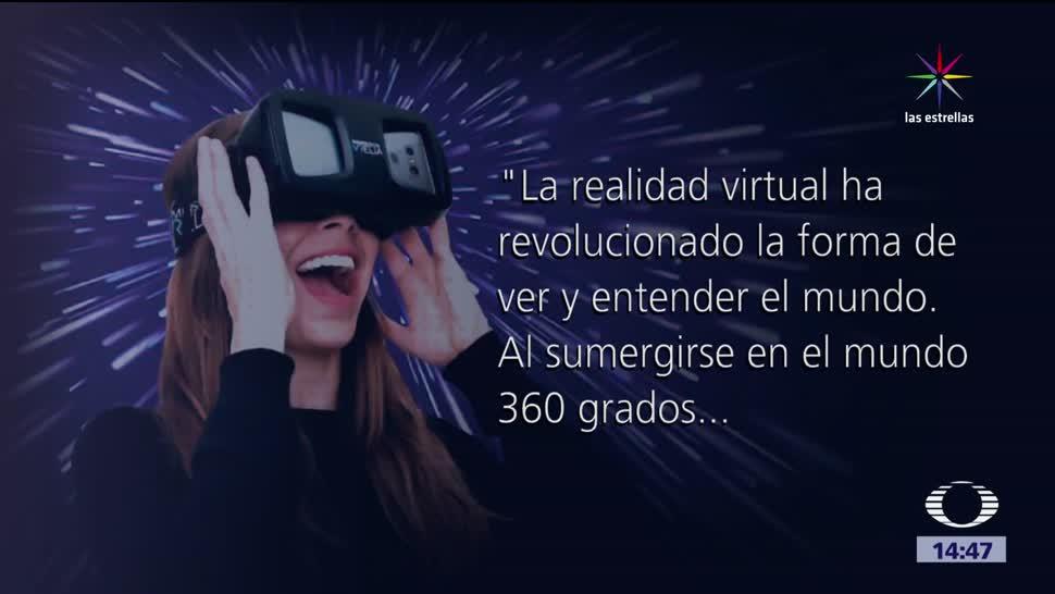 noticias, televisa, Realidad virtual, sala especializada, Mexico, 3D