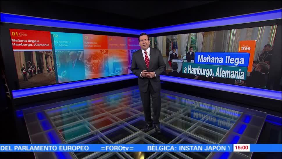 noticias, forotv, A las Tres, Programa, completo, 6 de julio de 2017