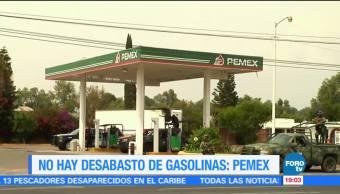 noticis, forotv, Pemex, No hay desabasto, gasolinas, Antonio González Anaya