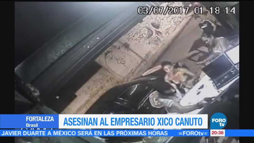 Asesinan, empresario, activista brasileño, Xico Canuto, Fortaleza, Brasil