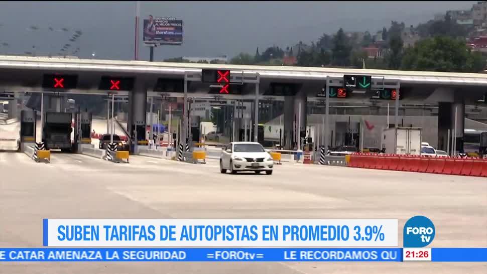 Aumentan, tarifas, carreteras, mexicanas, casetas, capufe