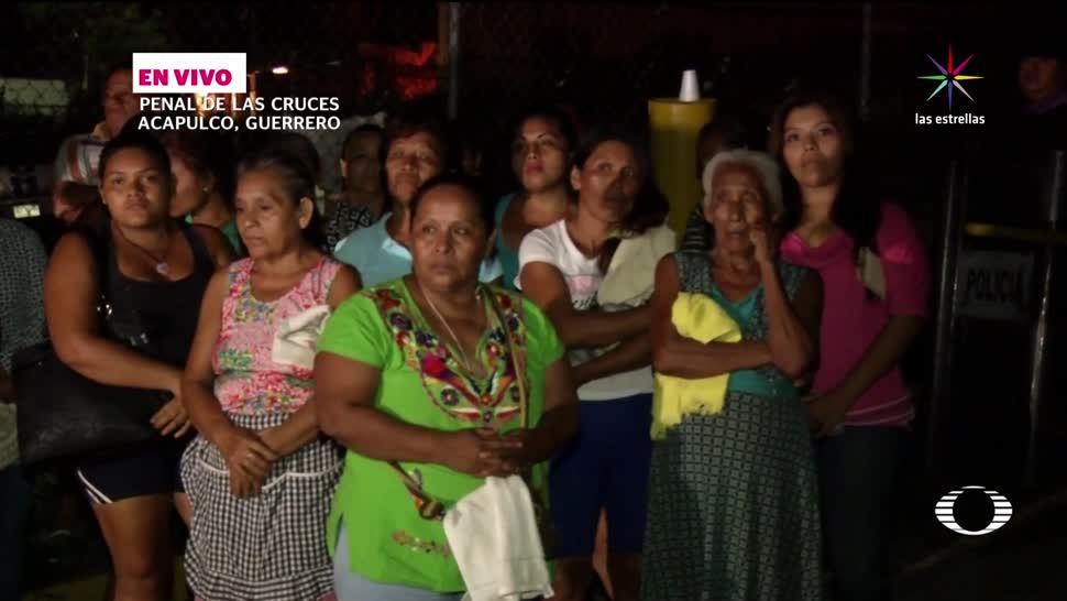 Familiares, reos, Acapulco, esperan, información, heridos