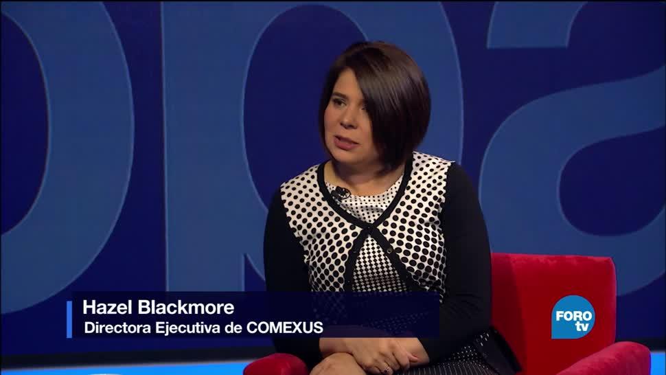 Genaro Lozano, entrevista, Hazel, Blackmore, Estados Unidos, Comexus