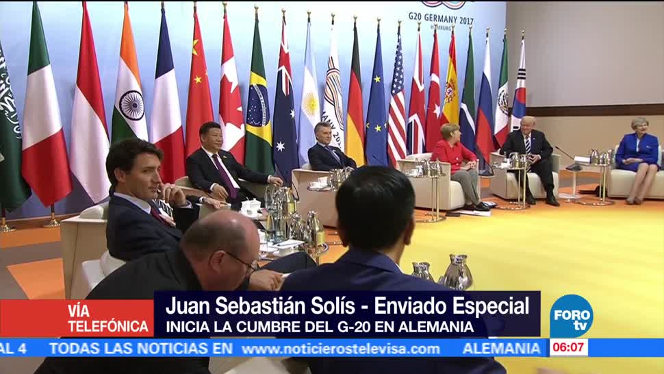 presidente, Enrique Peña Nieto, cumbre del G20, Hamburgo