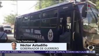Héctor Astudillo, habla en Despierta, masacre, penal de Acapulco