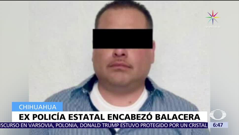 Expolicía apodado, El 32, encabezó enfrentamiento, Chihuahua
