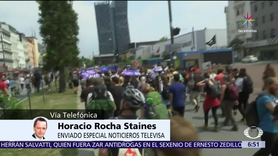 Protestas, Hamburgo, G20, 70 heridos