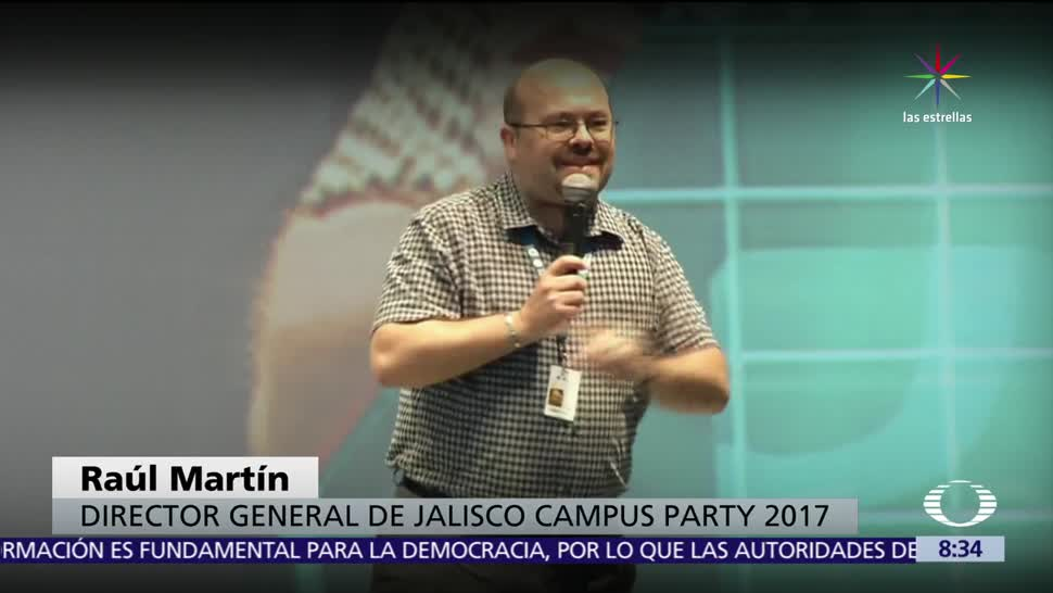 Jalisco, Campus Party , ciencia, innovación y tecnología