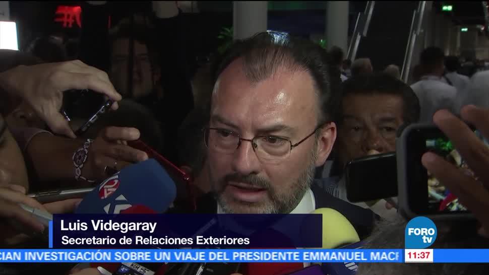 Videgaray, evalúa reunión, Peña Nieto, Trump