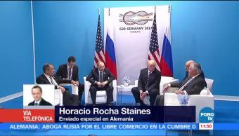 Horacio Rocha, Reunión Trump-Putin, Cumbre del G20