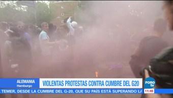 Violentas protestas, Cumbre del G20