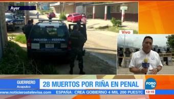 Reanudan visitas, penal de Las Cruces, Acapulco, Guerrero