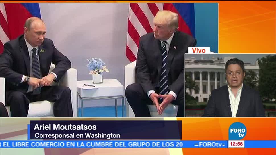 Casa Blanca, emite mensaje, sobre el TLC, Ariel Moutsatsos