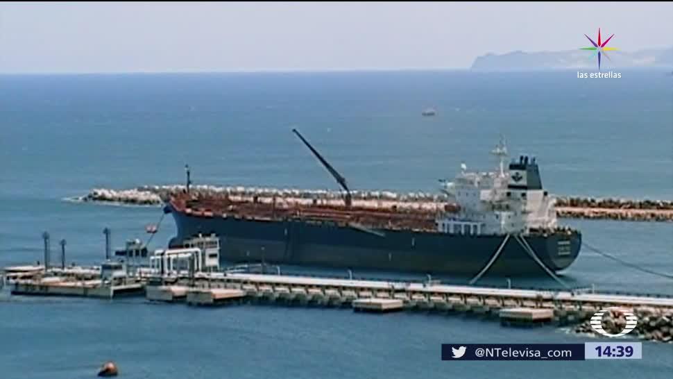 noticias, televisa, Llega, gasolina importada, Salina Cruz, refinería