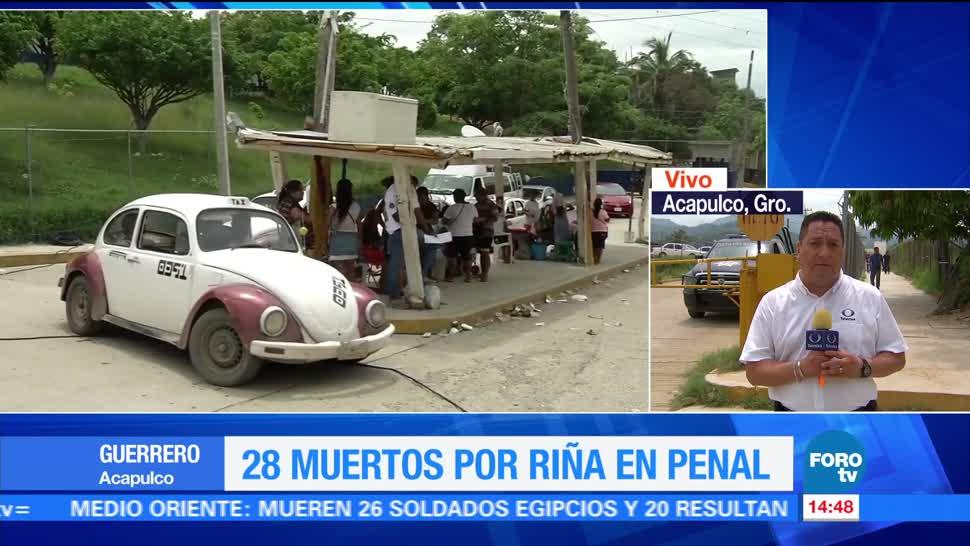 noticias, forotv, Permiten, visitas familiares, penal de Acapulco, Penal de Tres Cruces